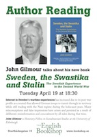 Author Reading - John Gilmour – Sweden, the Swastika and Stailn