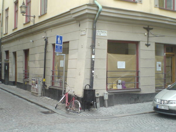 Nygatan 11 - The English Bookshop in Stockholm Gamla stan