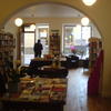 Interior of the bookshop
