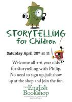 Storytelling for Children - Saturday April 30th at 11 (2011)
