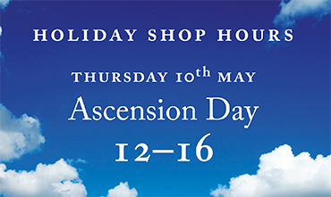 Shop hours for Ascension Day