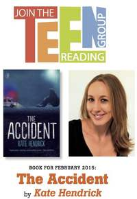 The English Bookshop, Teen Reading Group – The Accident by Kate Hendrick