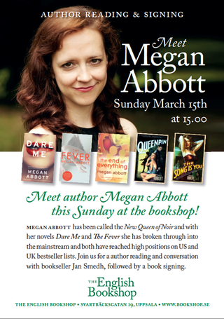 Meet Megan Abbott, The English Bookshop Uppsala