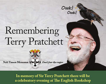 Remembering Terry Pratchett – a celebratory evening at The English Bookshop in Uppsala