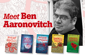 Meet Ben Aaronovitch