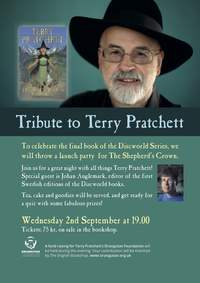 Tribute to Terry Pratchett – Event at The English Bookshop Uppsala 20150902