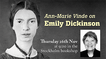 Breakfast Talk: Ann-Marie Vinde on Emily Dickinson