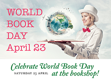 Celebrate World Book Day at the bookshop
