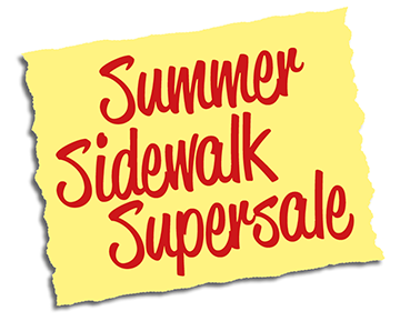 Summer Sidewalk Supersale in Uppsala