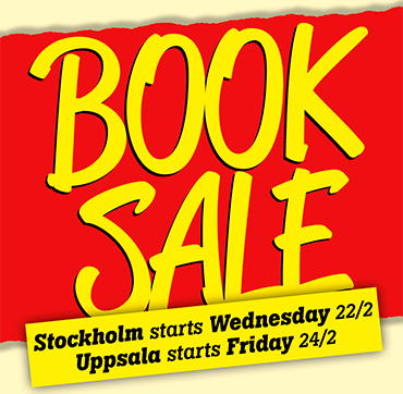 Book Sale in Stockholm and Uppsala