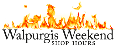 Walpurgis Weekend Shop Hours