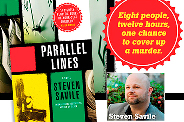 Release Party: Parallel Lines – Steven Savile