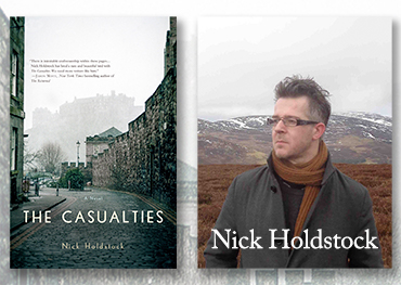 Reading Nick Holdstock Thursday 3rd Aug in Stockholm