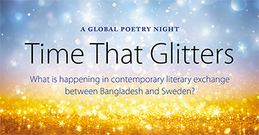 Time That Glitters – a global poetry night with book release