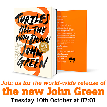 Release of the new John Green book