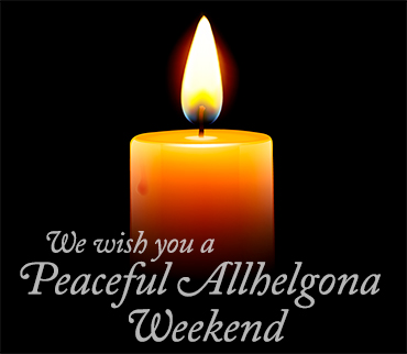 Peaceful Allhelgona weekend