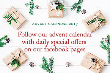 Follow our Advent Calendar on facebook