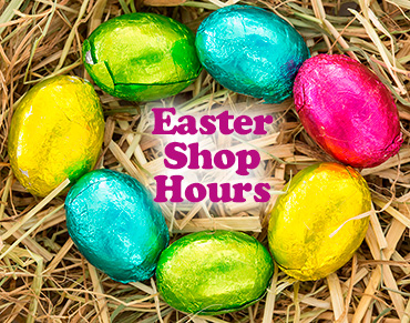 Easter Shop Hours