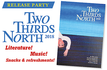 Release party for Two Thirds North 2018