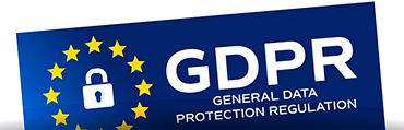 GDPR in effect from May 25th 2018