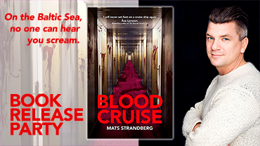 Book release BLOOD CRUISE by Mats Strandberg