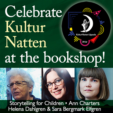 Celebrate KulturNatten at the bookshop