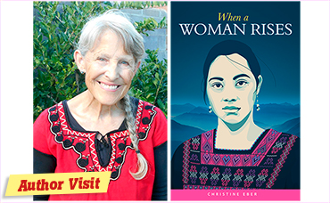 Author visit: Christine Eber – When a Woman Rises