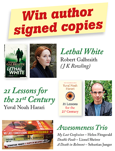 Win author signed copies