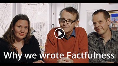 Video - Why we wrote Factfulness