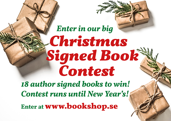 Enter in the big Christmas Signed Book Contest before the year ends!