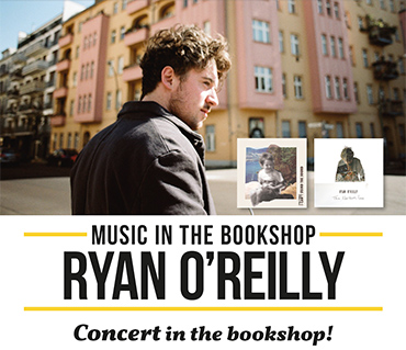 Ryan O'Reilly in concert at the bookshop