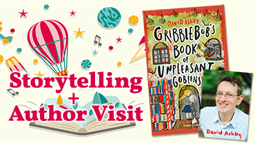 Storytelling and Author Visit