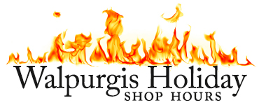 Walpurgis Holiday Shop Hours