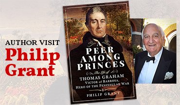 Author visit: Philip Grant – A Peer Among Princes