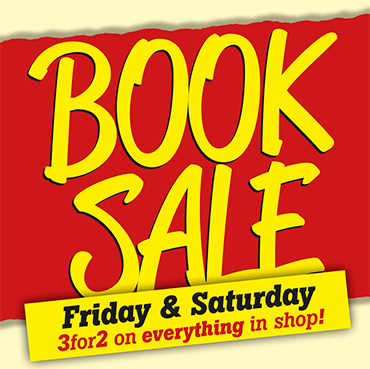 Book Sale Friday 28th–Saturday 29th Feb 2020