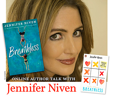 Online talk with Jennifer Niven