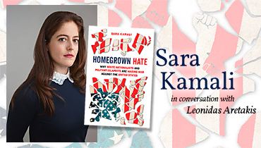 """Homegrown Hate"" – online author event with Sara Kamali"