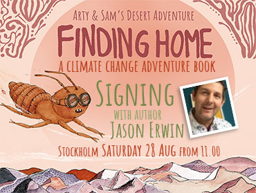 """Signing """"Finding Home"""""""