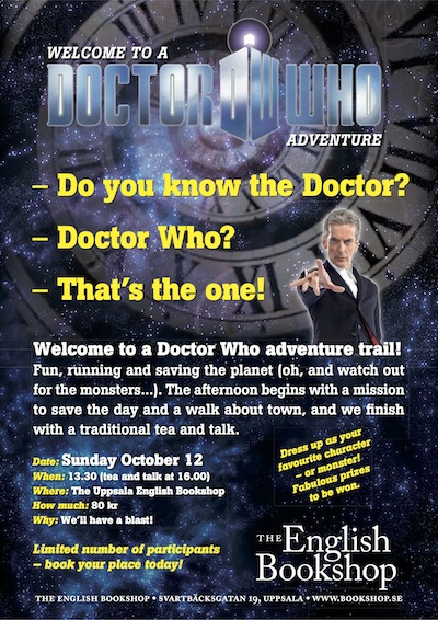 Welcome to a Doctor Who adventure trail