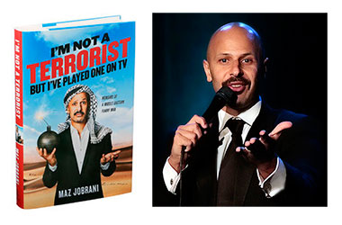 Maz Jobrani and his new book