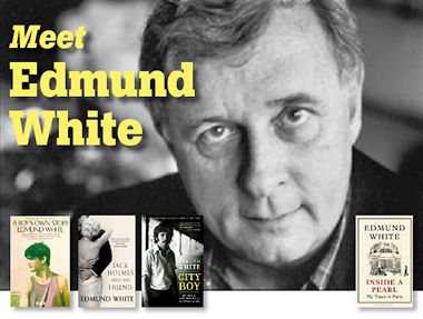 Meet American author Edmund White