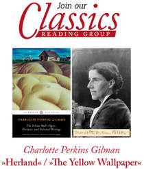 The English Bookshop Reading Group - Classics, Charlotte Perkins Gilman, Herland, The Yellow Paper