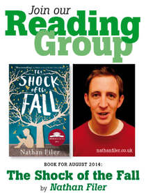 The English Bookshop Reading Group - The Shock of the Fall by Nathan Filer