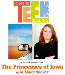 The English Bookshop Teen Reading Group - The Princess of Iowa by M. Molly Backes