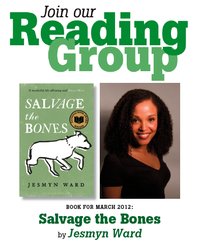 Reading Group - Salvage the Bones by Jesmyn Ward