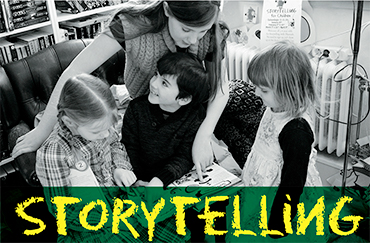 Storytelling in Uppsala Sat 7th April