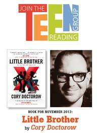 Teen Reading Group – Little Brother by Cory Doctorow