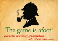 The game is afoot - Sherlock Evening at the Stockholm shop