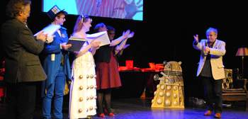 The English Bookshop Night of the 7th Doctor – Doctor Who – Thank you Sylvester McCoy, thank you Whovians