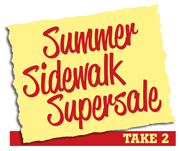 Summer Sidewalk Supersale in Uppsala - Take 2